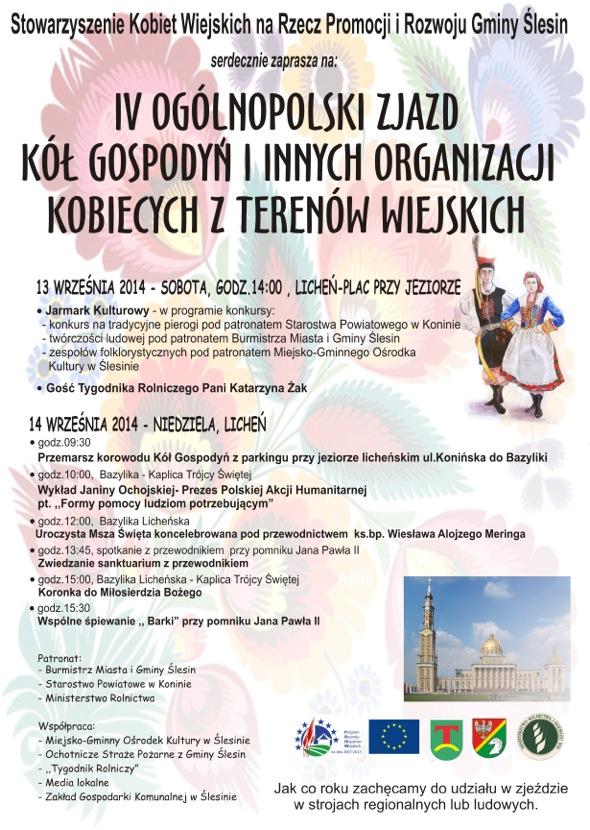 IV Ogólnopolski Zjazd Kół Gospodyń